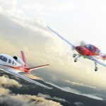VisionJet and SR22T Corso Red